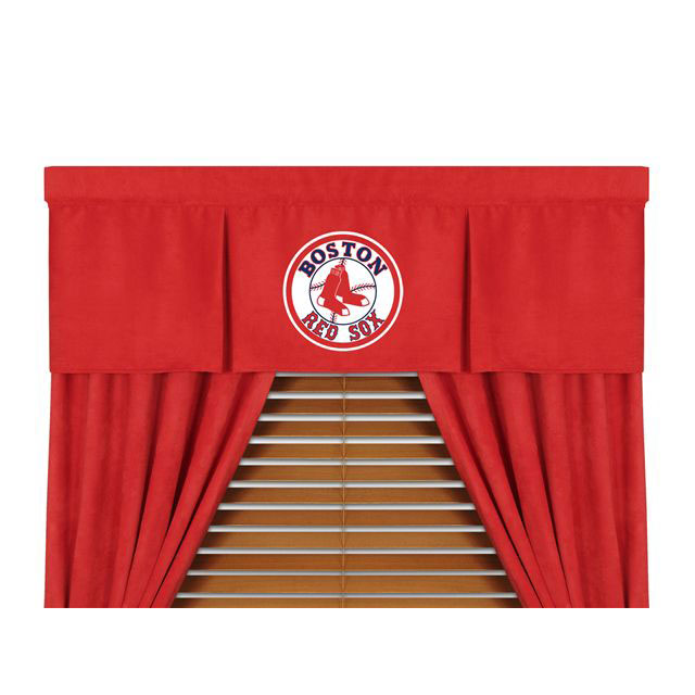 Family Bedding - MLB Boston Red Sox MVP Micro Suede Valance