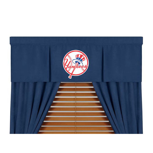 Family Bedding - MLB New York Yankees MVP Micro Suede Valance